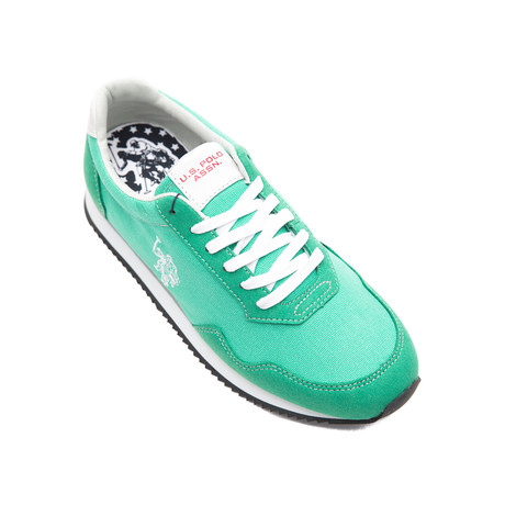 Raji Canvas Sneakers // Green (Euro: 40)