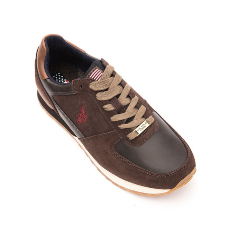 Phil Sneakers // Dark Brown (Euro: 40)