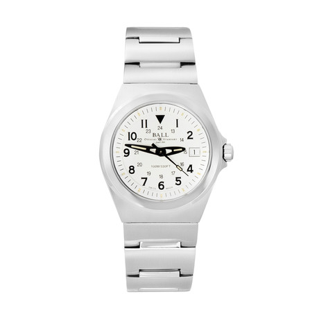 Ball Railroader Quartz // NM1019C-WH