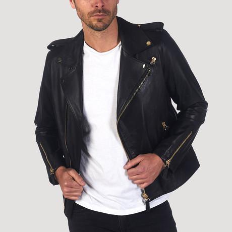 Union Leather Jacket // Black (S)