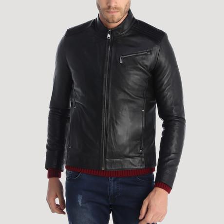 Haight Leather Jacket // Black (XS)