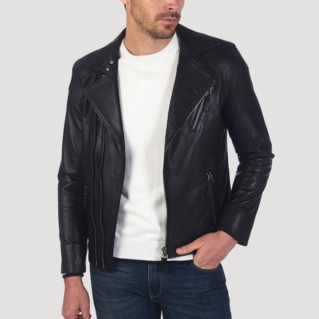 Vermont Leather Jacket // Black (S)