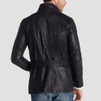 Alley Leather Jacket // Black (2XL)