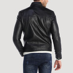 Howard Leather Jacket // Black (XL)