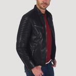 Yerba Leather Jacket // Black (3XL)