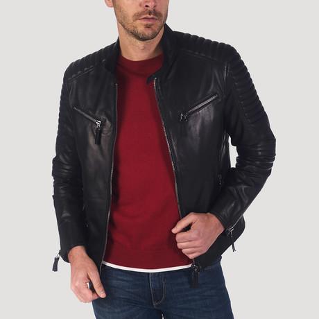 Yerba Leather Jacket // Black (S)