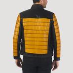 Macondray Leather Jacket // Yellow + Black (XL)