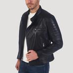 Stockton Leather Jacket // Black (2XL)