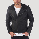 Guerro Leather Jacket // Brown Taffeta (2XL)