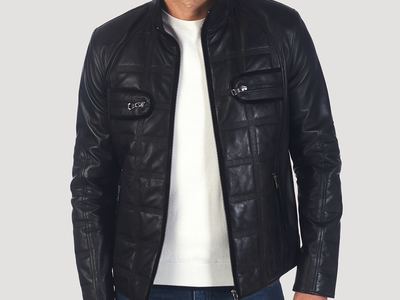 Photo of Giorgio di Mare Classically Cool Leather Jackets Ross Leather Jacket // Black (S) by Touch Of Modern