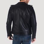 Shotwell Leather Jacket // Black (M)