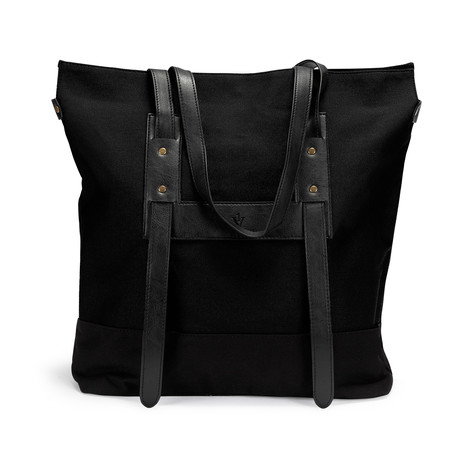 The Simple Tote // Black