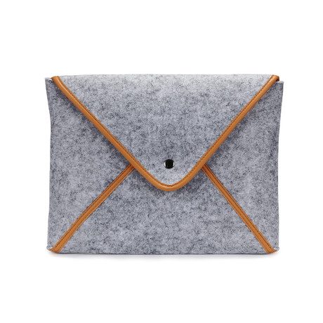 The Classic Laptop Sleeve // Grey