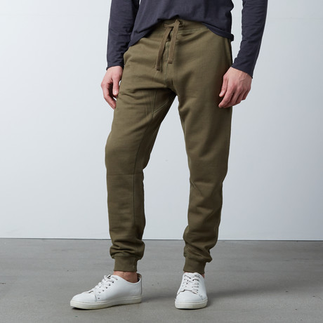Simply Butter Jogger // Olive (S)
