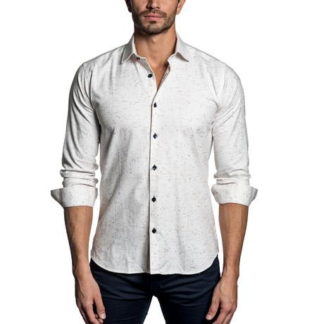Woven Button-Up // WHITE MULTI (S)