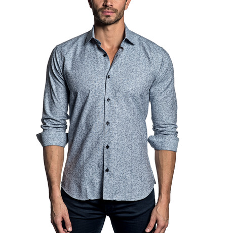 Woven Button-Up // GRAY DIGITAL (S)