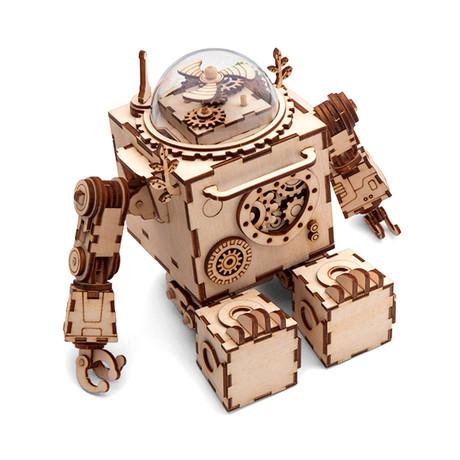 DIY Music Box // Robot