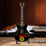 Chris Cornell // Soundgarden Logo Mini Guitar Replica