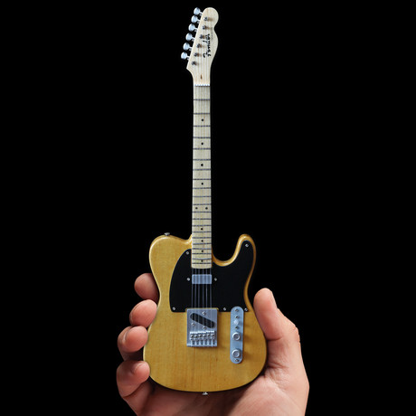 Bruce Springsteen // Fender™ Tele™ Mini Guitar Replica // Butterscotch Blonde
