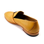 Woven Laether Loafer // Camel (US: 8)