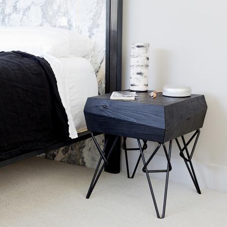 Bowline Side Table (Ebonized)