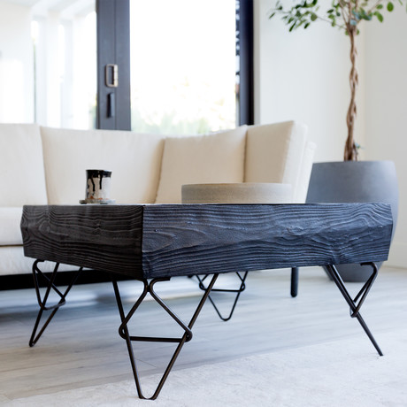 Bowline Coffee Table (Ebonized)