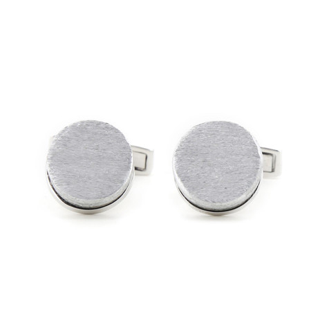 The Nines + Article22 // Circle Disc Cufflinks