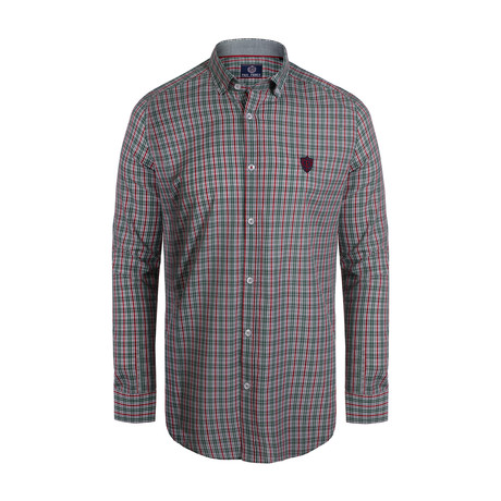 Myles Button Down Shirt // Multicolor (S)