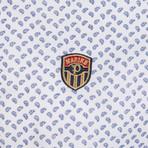 Hakim Button Down Shirt // Navy Print (S)