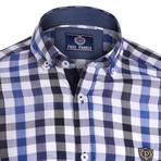 Shirt // Dark Blue Plaid (2XL)