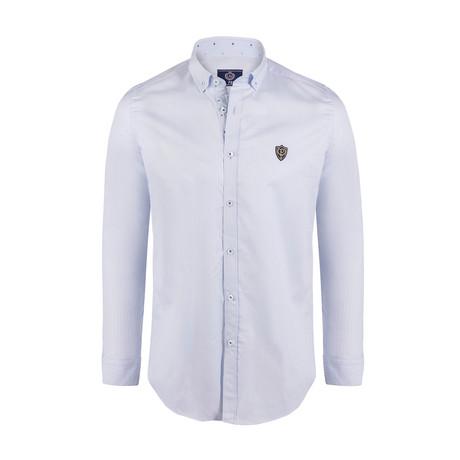 Duffy Button Down Shirt // Light Blue (S)