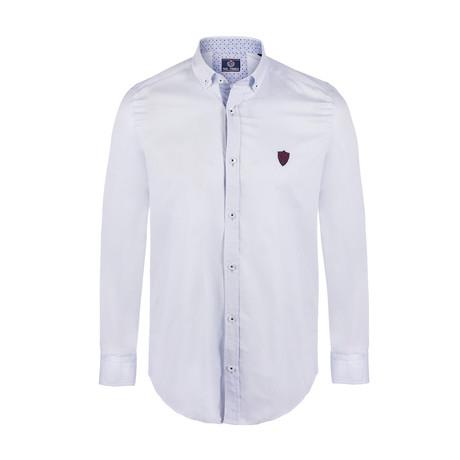 Osborne Button Down Shirt // Light Blue Point (S)