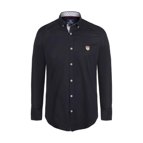 Men's Woven Shirt // Navy