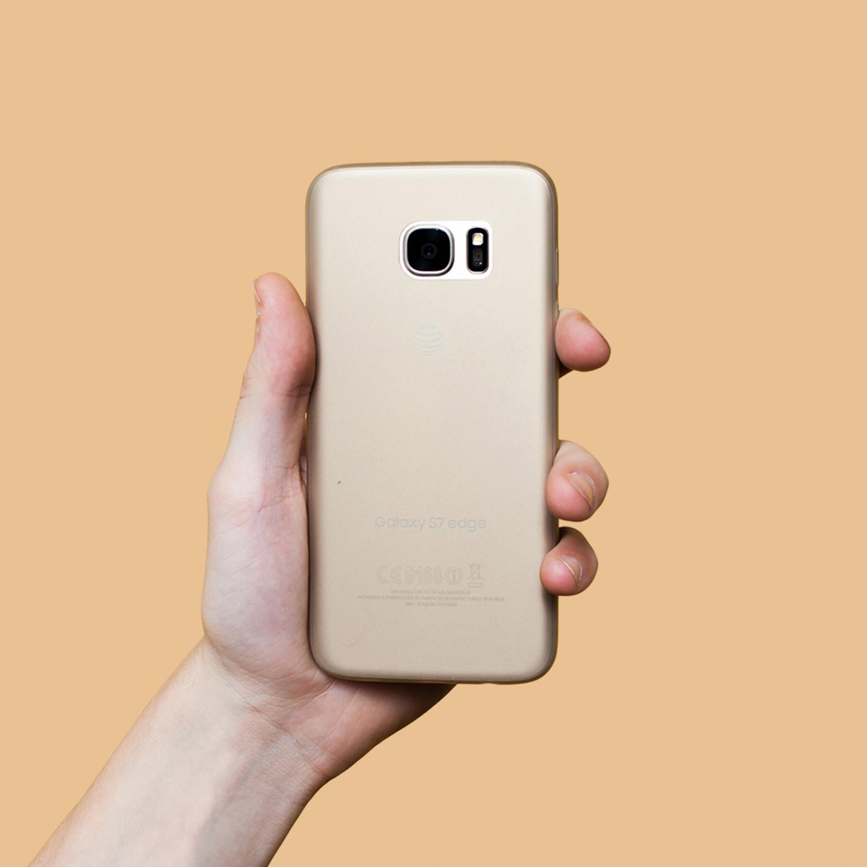 more photos 036ac e5eec Peel Super Thin Phone Case // Galaxy S7 Edge (Gold Platinum) - Peel ...