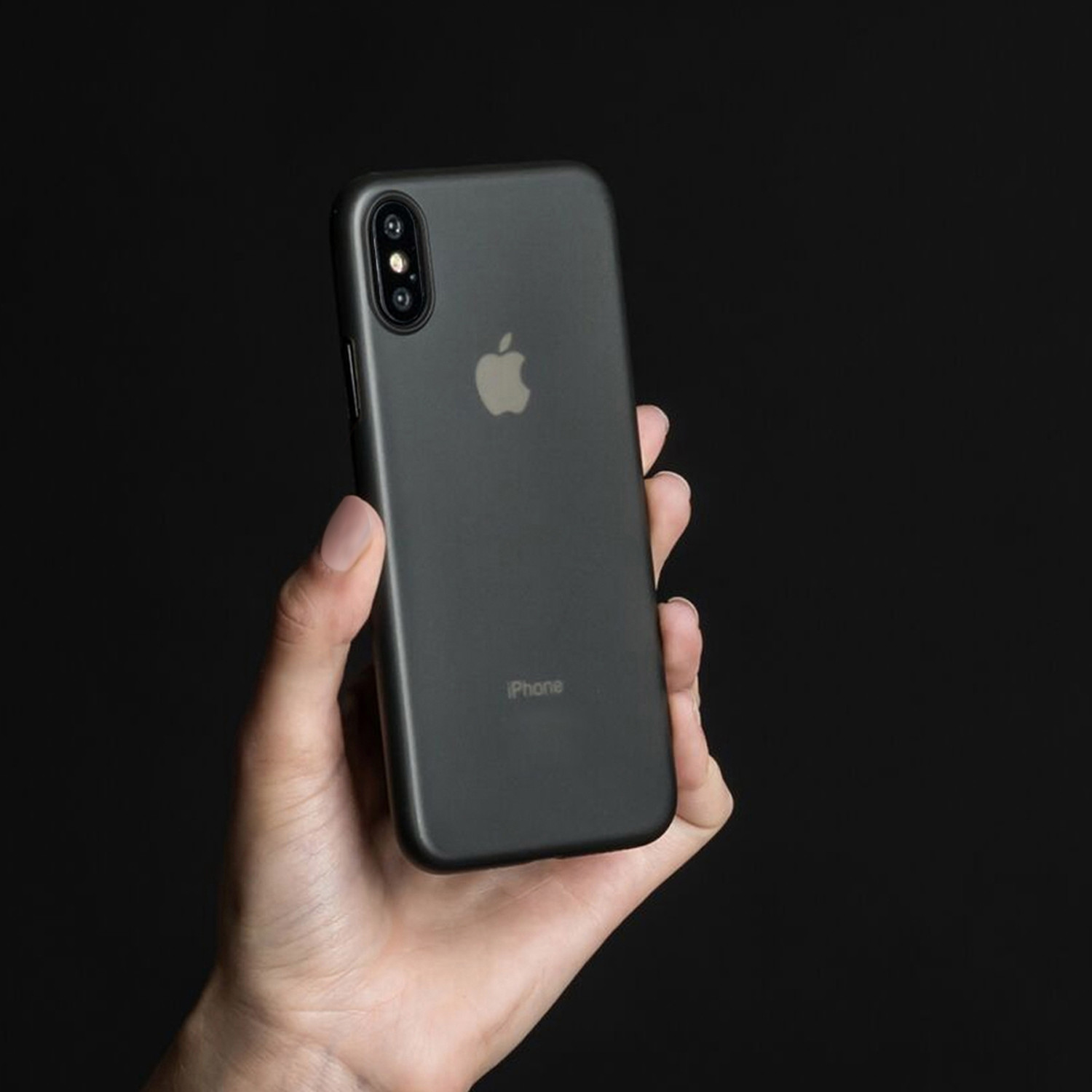 pretty nice 695aa 41faa Peel Super Thin Phone Case // iPhone X (Blackout) - Peel - Touch of ...