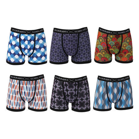 Overdrive Moisture Wicking Boxer Brief // Pack of 6 (S)