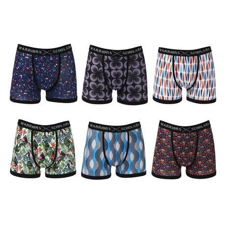 Torque Moisture Wicking Boxer Brief // Pack of 6 (S)
