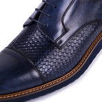 Lake Leather Derby // Navy (Euro: 39)