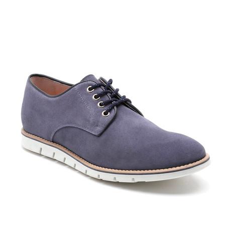 Sidney Suede Sport Shoe // Blue