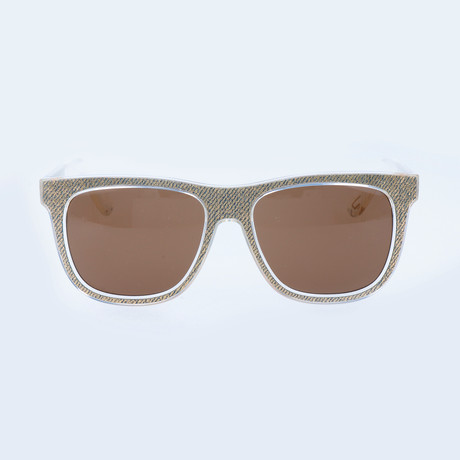Darby Sunglasses // Twill + Clear