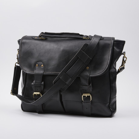 Satchel Bag Briefcase Style // Black