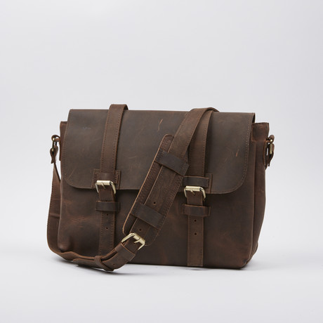 Wanderer's Bag // Antique Brown