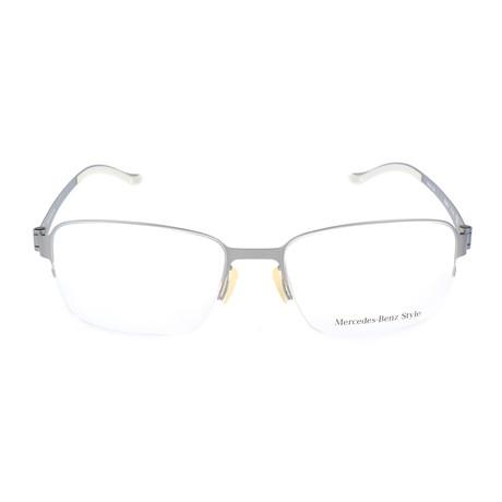 Men's M6032 Frames // Silver