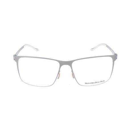 Men's M2054 Frames // Silver
