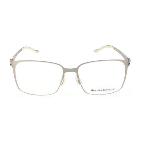 Men's M6037 Frames // Silver
