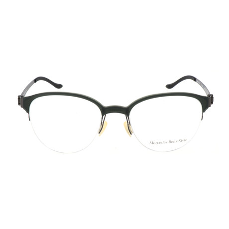 Unisex M6039 Frames // Dark Green + Gunmetal