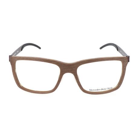 Men's M8003 Frames // Light Brown + Brown