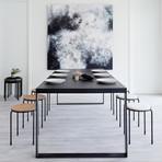 Bowline Stool (Black Canvas + Black)