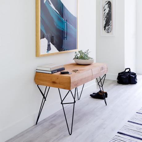 Bowline Console Table (Ebonized)
