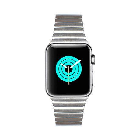 Apple Watch Link Bracelet // Silver (38mm - 40mm)